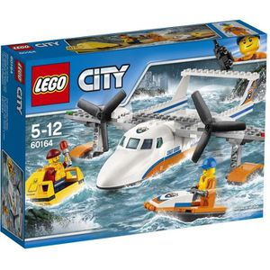 ASSEMBLAGE CONSTRUCTION LEGO® City 60164 L'Hydravion de Secours en Mer