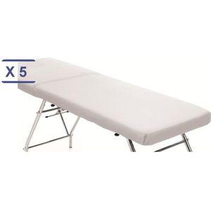 Generic 2pi/èces Housse de Drap de Lit Couvre-Matelas pour Table de Massage Spa