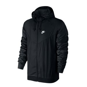 Veste nike coupe vent noir – Modèles coûteux de vestes