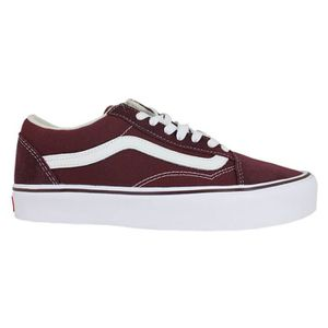 BASKET VANS OLD SKOOL LITE SUEDE CANVAS PORT ROYALE