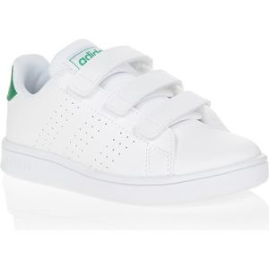BASKET ADIDAS Baskets ADVANTAGE C - Enfant - Blanc/Vert