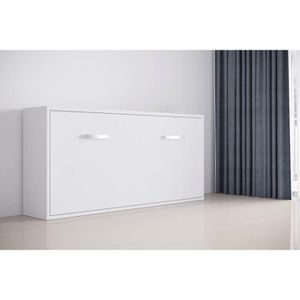 LIT ESCAMOTABLE FAST - Armoire lit escamotable horizontale 1 place