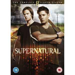 DVD SÉRIE Coffret DVD Supernatural saison 8 - Audio français