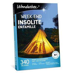 COFFRET SÉJOUR Wonderbox - Coffret cadeau - Week-end insolite en