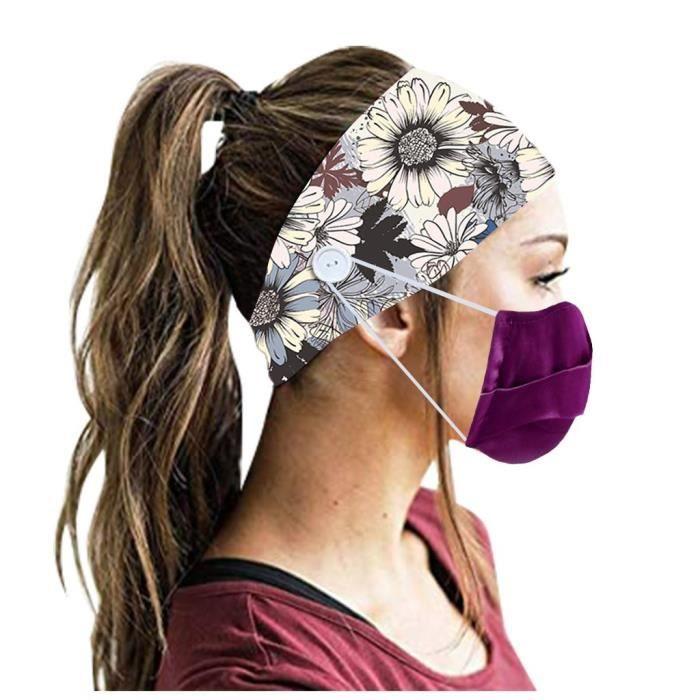 【HARNAIS DE TETE】Hommes Femmes Bandeau Bandeau Running Yoga Élastique Bandeau Cheveux Accessoires De Cheveux - Multicolore229