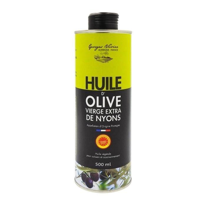 Huile d'olive de Nyons AOP - Georges Nivier - bidon 50cl