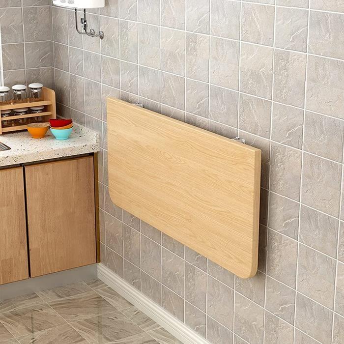 WYFZT Table Murale Pliante Rabattable pour Cuisine Exterieur, Petite Pliable Table Goutte Table à Manger, Bureau pour Maison Gar31