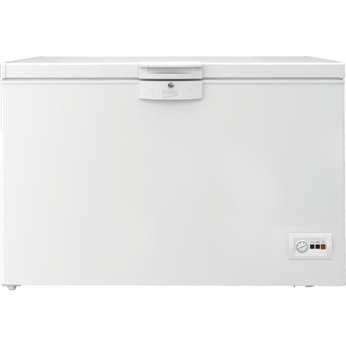 BEKO - HSA40530N - Congélateur coffre - 360 L - MinFrost - A+ - Blanc