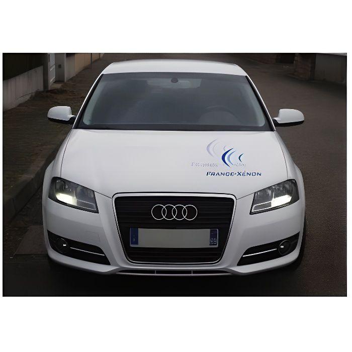 Feux de jour Audi A3 8P Restylée Sans Erreur ODB - La beauté et la qualtié réunie. Garantie 1 an Waterproof et Dustproof Homologué