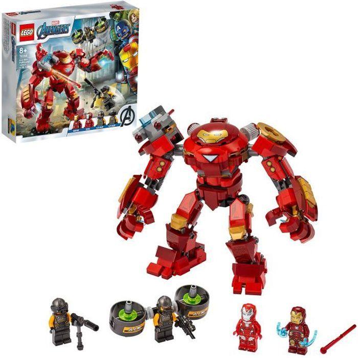 LEGO® Marvel Super Heroes™ 76164 Iron Man Hulkbuster contre un agent de l'A.I.M.