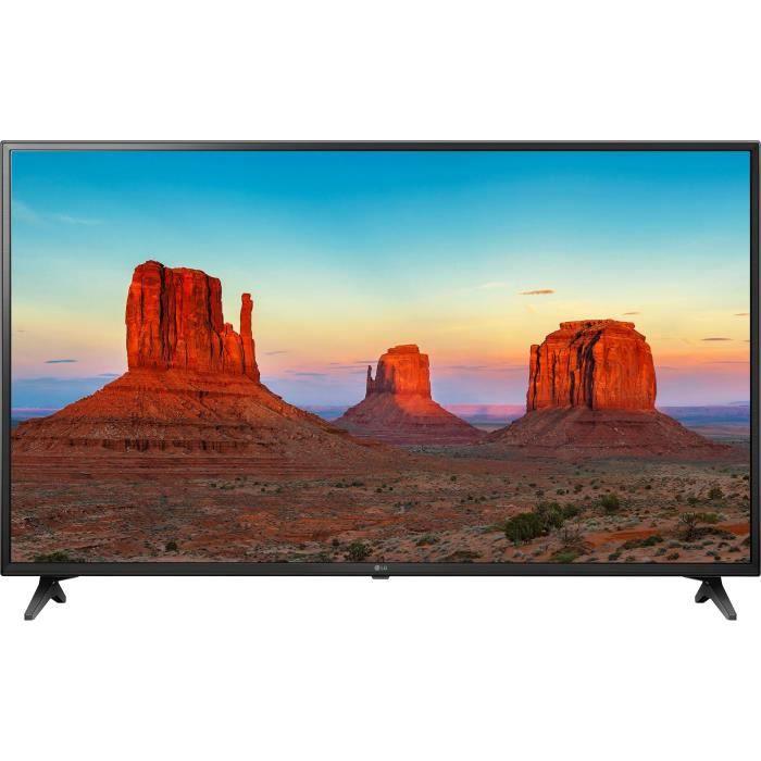 LG 43UK6200PLA TV LED UHD 4K - 108 cm (43-) - SMART TV - 3 x HDMI - 2 x USB - Classe énergétique A