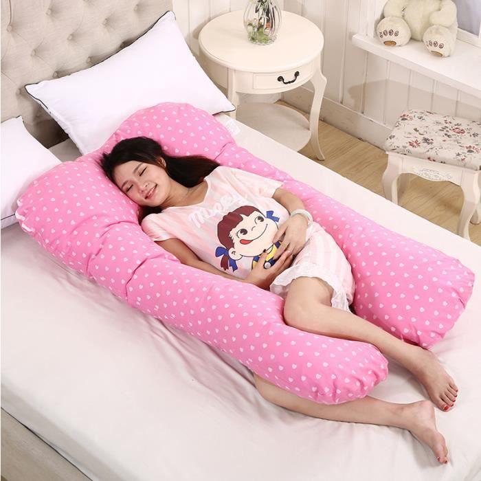Coussin de Maternité Grossesse Oreiller Coussin de sommeil confortable