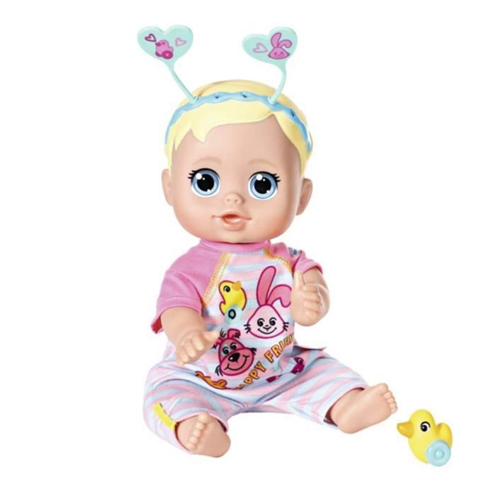 Zapf Creation 826164 Baby born Funny Faces Bouncing Baby