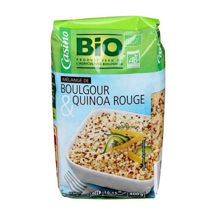 CASINO BIO Mélange Quinoa Boulgour Bio - 400g