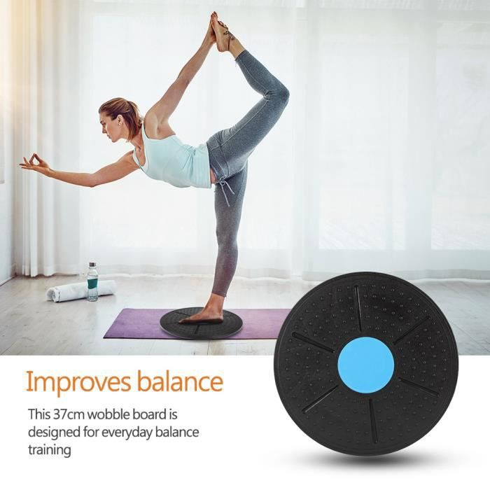 Balance Board 37cm Planche Plateau Equilibre Fitness Entraînement physique Yoga HB021 -RUI