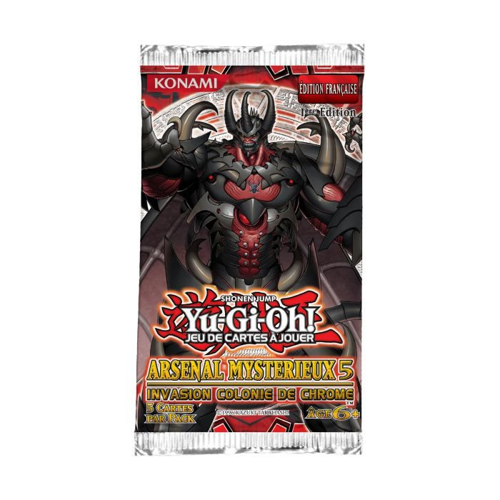 CARTE A COLLECTIONNER Yu Gi Oh - Booster Arsenal