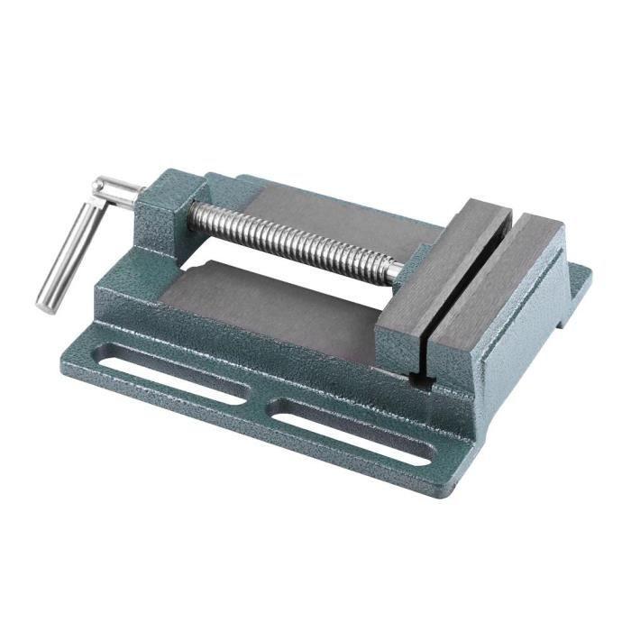 /Étau de Machine 2 Axes /Étau pour Table Crois/ée Table de Fraisage ou Bien /Établi /Étau Coulissant Manuel pour Perceuse /à Colonne 100 mm