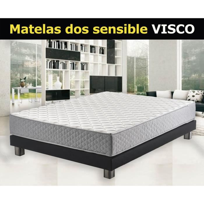 matelas 90x200 mousse hd 30kg m 24cm m moire de forme cloudyfresh ferme couchage profil. Black Bedroom Furniture Sets. Home Design Ideas