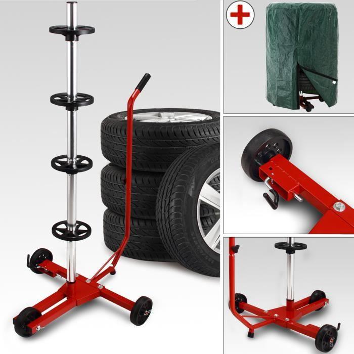 rayonnage à roues rack à pneus Etagère de rangements pour roues 795kg 180x120