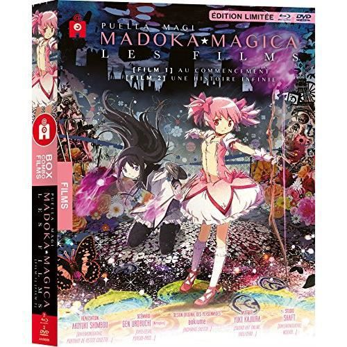 BLU-RAY MANGA Puella Magi Madoka Magica - Film 1 et 2 - Coffret