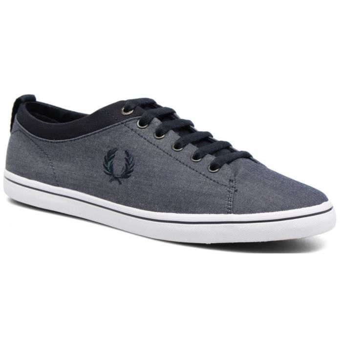 Basket Fred Perry Hallam Chambray