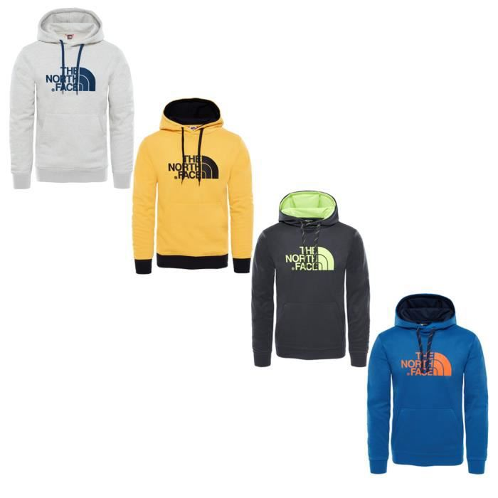 0125baab05 The North Face M SURGENT HALFDOME EU Sweat Capuche Bleu Bleu - Achat ...
