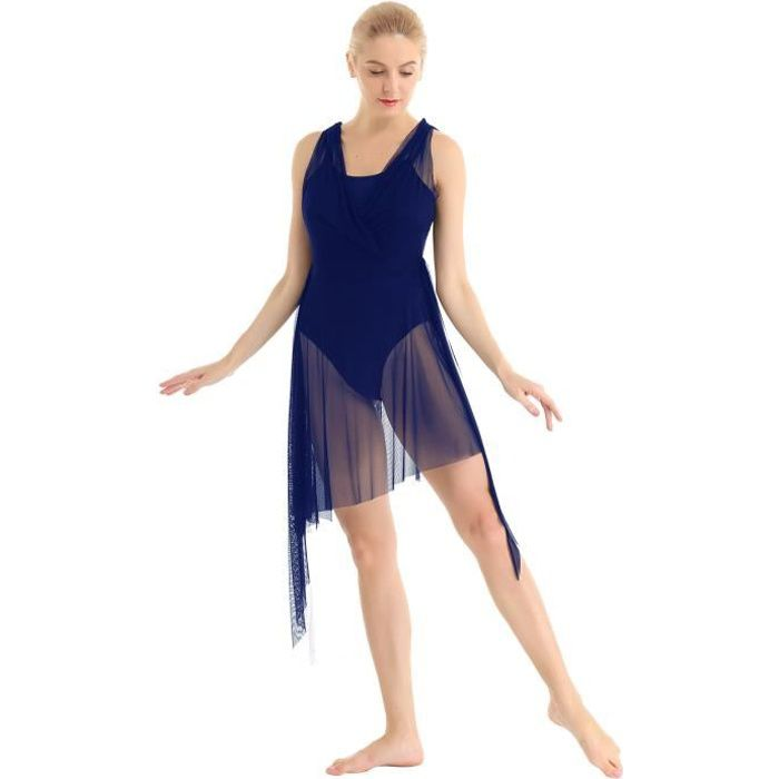 TUTU - JUSTAUCORPS Robe Danse Contemporaine Femme Robe Patinage Artis