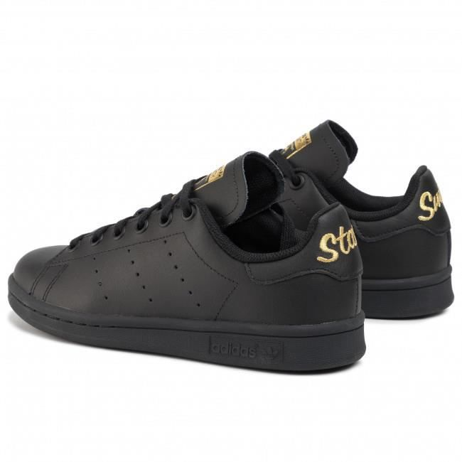 adidas stan smith noir et or online