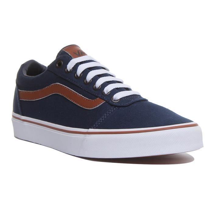 Vans Ward Chaussures de sport pour hommes en bleu Bleu - Cdiscount ...