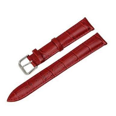18mm Montres Bracelet Boucle Ardillon brun rouge brillant bicolores