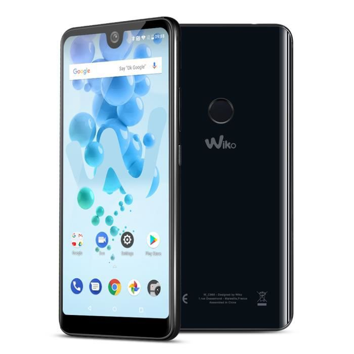 SMARTPHONE Wiko View 2 Pro Anthracite Face ID Android 8.0 Emp