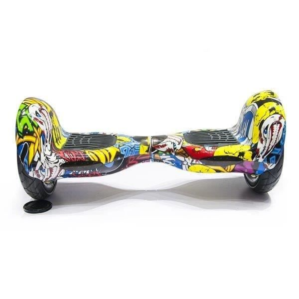 hoverboard 10 pouces skate lectrique gyropode 36v comics achat vente hoverboard arpentez. Black Bedroom Furniture Sets. Home Design Ideas