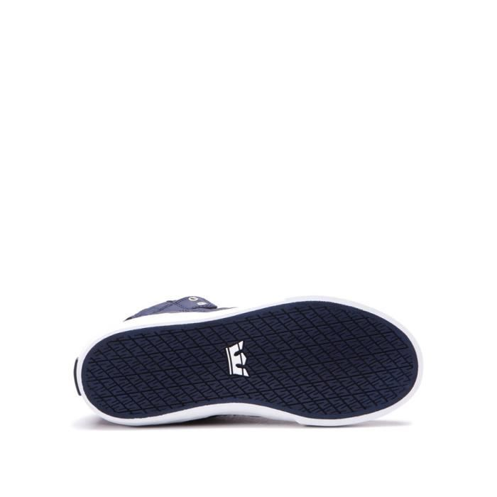 Chaussures SUPRA KIDS VAIDER midnight white