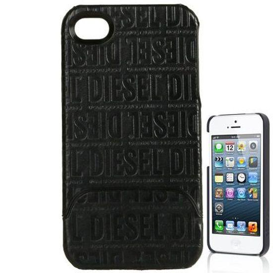 Etui Coque iPhone 4 DIESEL Noir - Achat coque - bumper pas cher ...