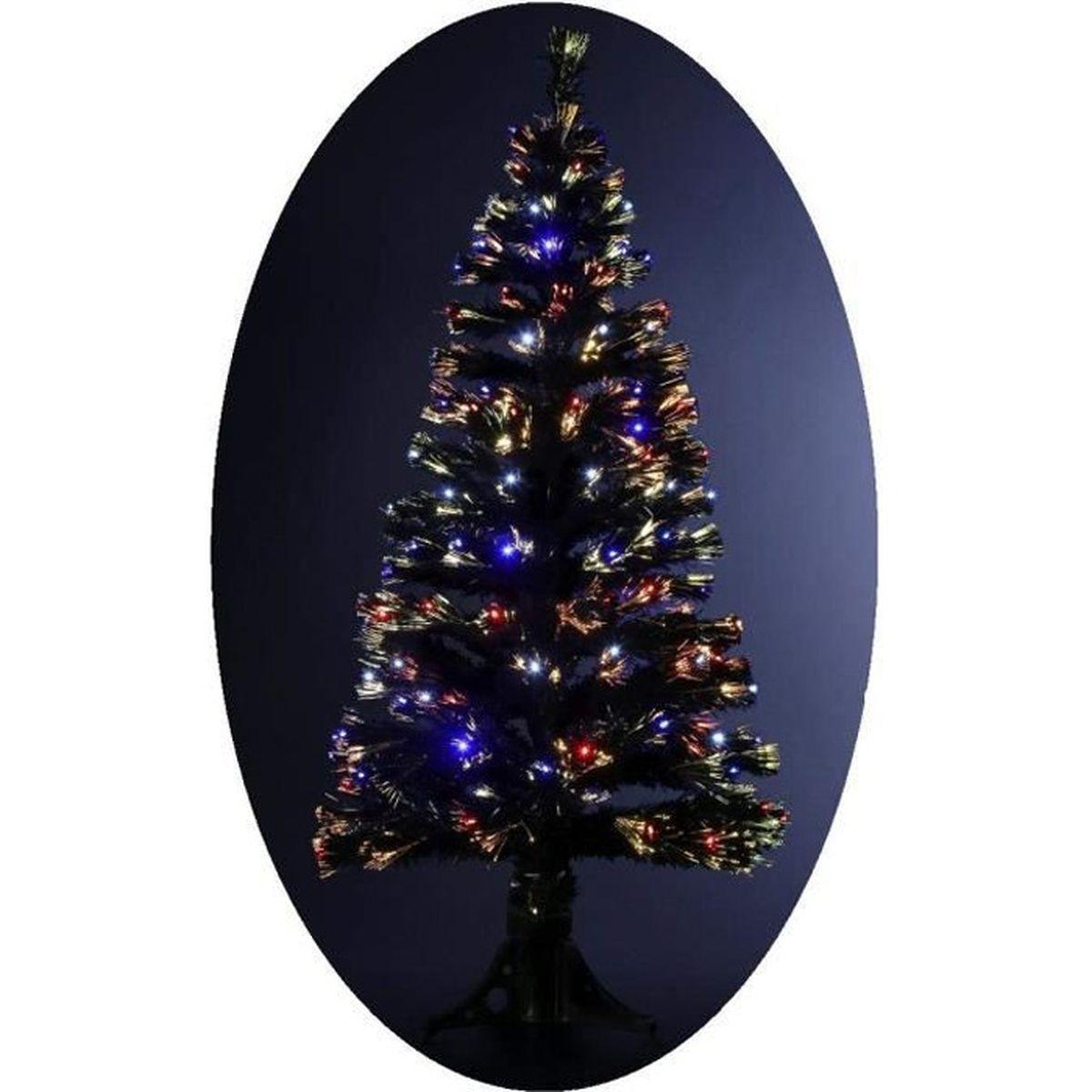 Sapin De Noël Artificiel Lumineux Avec Fibre Optique 170
