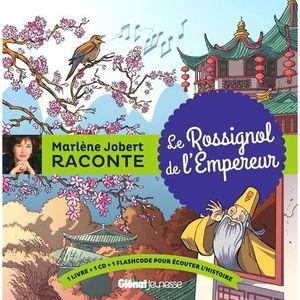 Livre 3-6 ANS Le rossignol de l'empereur. Avec 1 CD audio