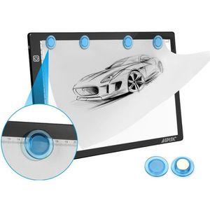 TABLE A DESSIN AGPtek LEGERE Tablette Lumineuse A4 Magnétique ave