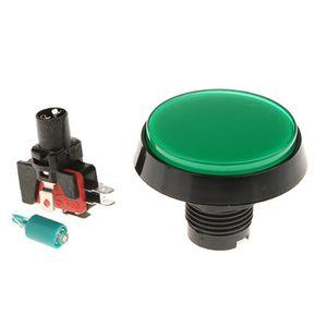 jeu d/'arcade 52 mm jaune lumineux momentané bouton poussoir simple pole, Double Throw Mini Switch T9 1X