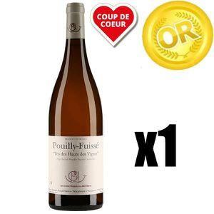 VIN BLANC X1 Guffens Heynen, Tri des Hauts de Vignes 2007 75