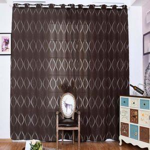 RIDEAU marron rideaux occultants 100x250 cm 2 pcs