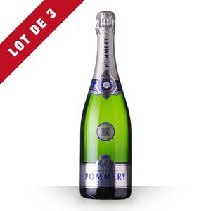CHAMPAGNE 3X Pommery Apanage Brut 75cl - Champagne