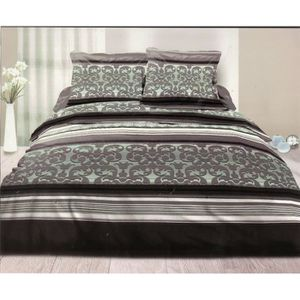 parure de lit 140x190 achat vente parure de lit. Black Bedroom Furniture Sets. Home Design Ideas