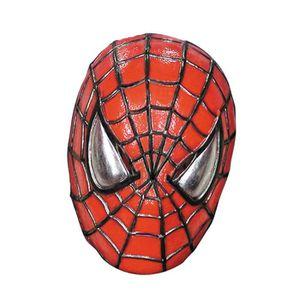 MASQUE - DÉCOR VISAGE Spiderman demi-masque
