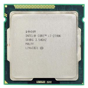 PROCESSEUR Intel Core i7 2700 K 3.5 GHz Quad-Core LGA 1155 CP