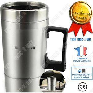 BOUILLOIRE ÉLECTRIQUE thermos bouilloire mug electrique voiture inox caf