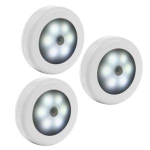 VEILLEUSE 3 pcs 18 led Lampe armoire detecteur mouvement, La