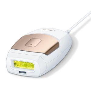 LUMIERE PULSEE - LASER BEURER IPL7500 Épilateur à lumière pulsée - Blanc