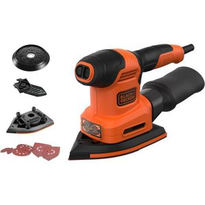 PONCEUSE - POLISSEUSE BLACK & DECKER Multiponceuse - 200 watts