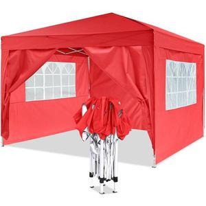 TONNELLE - BARNUM Tente de réception pliante 3 x 3m, Tonnelle de jar