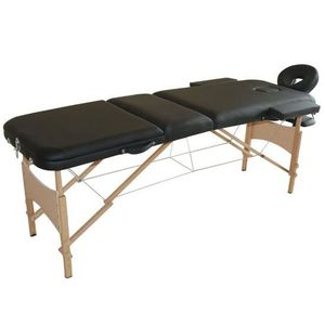 TABLE DE MASSAGE LIT/TABLE DE MASSAGE COSMETIQUE PLIABLE EN BOIS 3